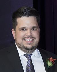 Martin Franco, lauréat du prix d'excellence en pratique spécialisée 2017