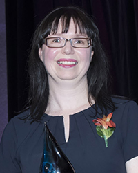 Nancy Sheehan, lauréate du prix d'excellence Roger-Leblanc
