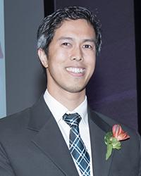 Patrick Viet-Quoc Nguyen, lauréat du prix d'excellence pour la relève 2017