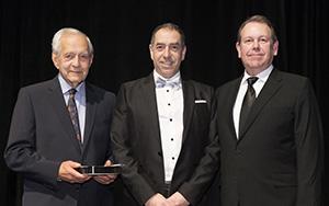 André Bonnici, lauréat du prix d'excellence Roger Leblanc 2018